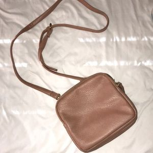 Forever 21 Dusty Pink Crossbody Bag